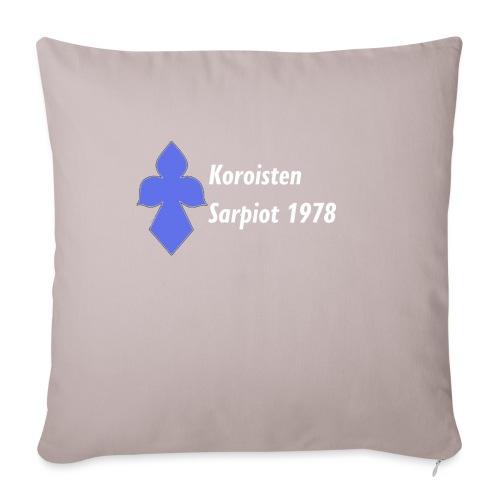 Koroisten Sarpiot - Sohvatyynyn päällinen 45 x 45 cm