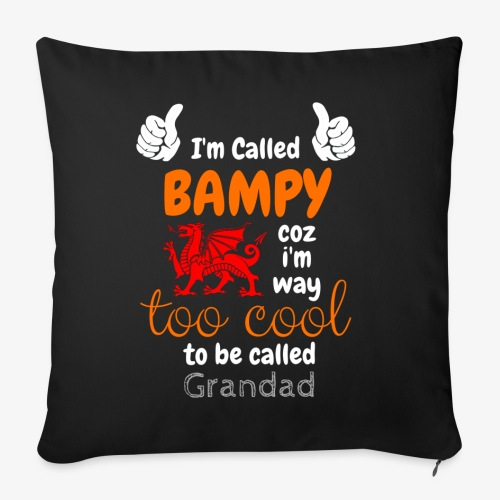 I'm Called BAMPY - Cool Range - Sofa pillowcase 17,3'' x 17,3'' (45 x 45 cm)