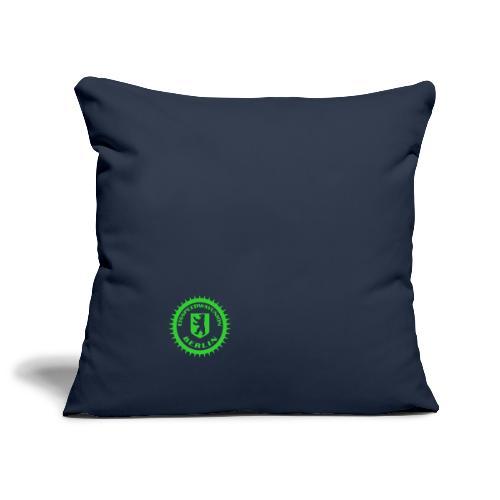 Logo klein ESU transp Green - Sofakissenbezug 44 x 44 cm