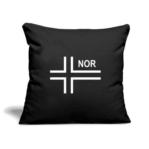 Norwegian Tactical Flag (Neg) Norway - Norge - NOR - Soffkuddsöverdrag, 45 x 45 cm