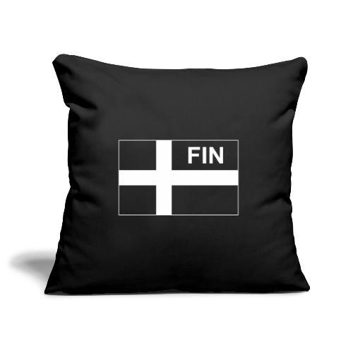 Finnish Tactical Flag FINLAND - Soumi - FIN - Soffkuddsöverdrag, 45 x 45 cm