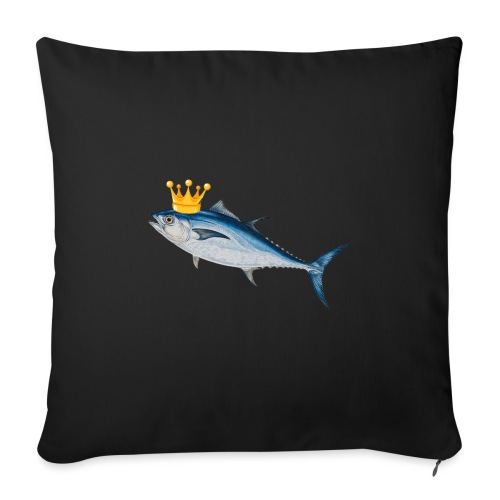 OFFICIAL KING TUNA MERCH - Sofa pillowcase 17,3'' x 17,3'' (45 x 45 cm)