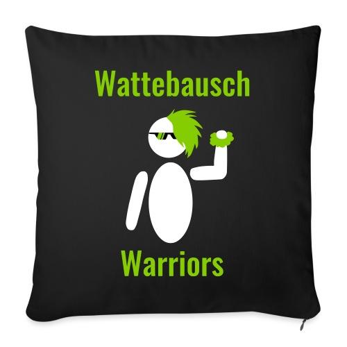 Wattebausch Warriors Grün II - Sofakissenbezug 44 x 44 cm