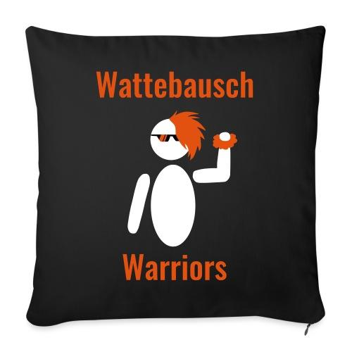 Wattebausch Warriors Orange II - Sofakissenbezug 44 x 44 cm