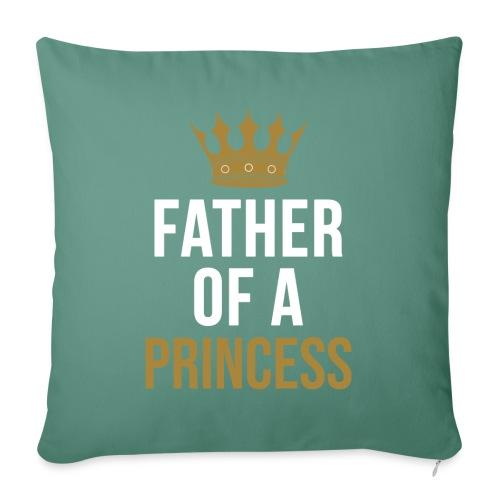 Father of a Princess Vater Sohn partnerlook - Sofakissenbezug 44 x 44 cm
