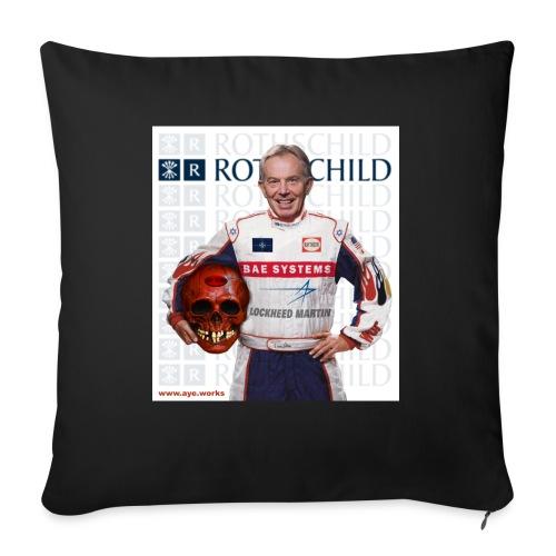 Inhuman Race - Sofa pillowcase 17,3'' x 17,3'' (45 x 45 cm)
