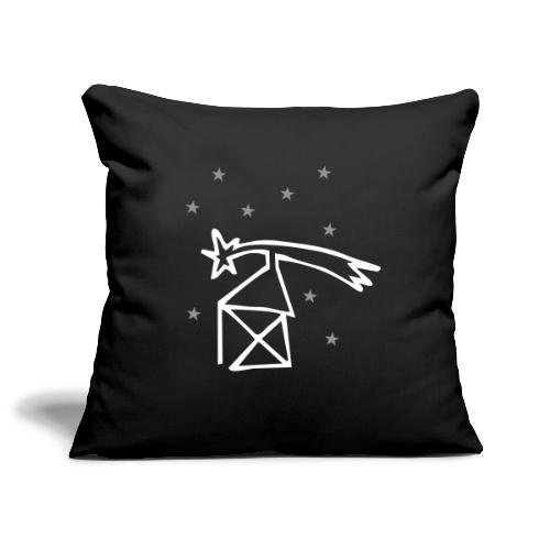 nikolaushaus mit komet - Sofakissenbezug 44 x 44 cm