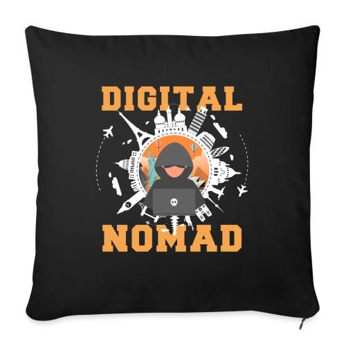Digital Nomad - Sofakissenbezug 44 x 44 cm