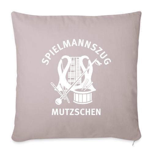 Logo Spielmannszug Mutzschen e V - Sofakissenbezug 44 x 44 cm