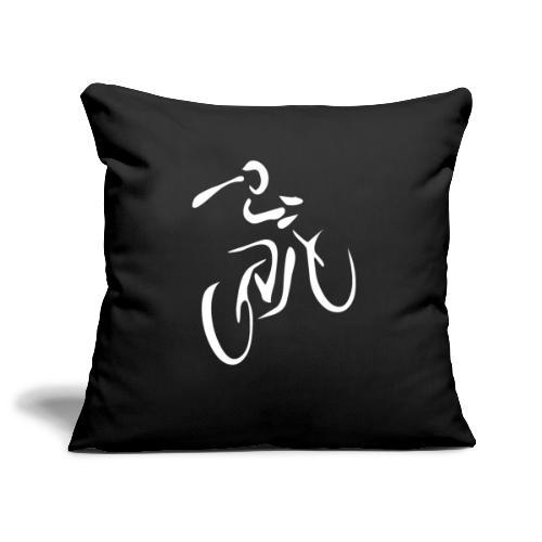 Fahrrad Fahrradfahren Fahrer Rad Fahrradfahrer - Sofakissenbezug 44 x 44 cm