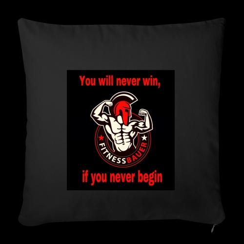 You will never win - Sofakissenbezug 44 x 44 cm