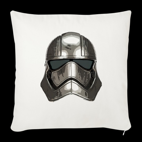 Phasma's Helmet - Sofa pillowcase 17,3'' x 17,3'' (45 x 45 cm)