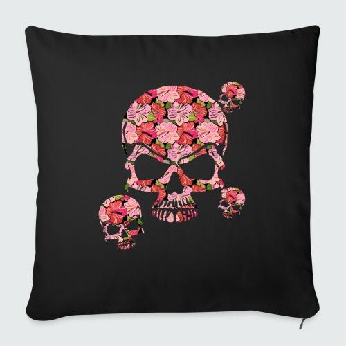 skullMANIA - Copricuscino per divano, 45 x 45 cm