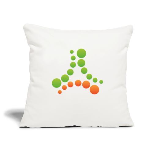 logotipo - Copricuscino per divano, 45 x 45 cm