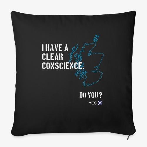 Clear Conscience - Sofa pillowcase 17,3'' x 17,3'' (45 x 45 cm)