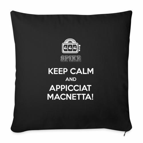KEEP CALM bianco - Copricuscino per divano, 45 x 45 cm