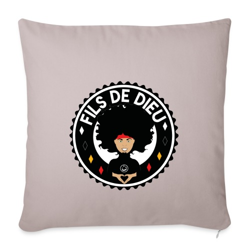 filsdeDieunoir - Housse de coussin décorative 45x 45cm
