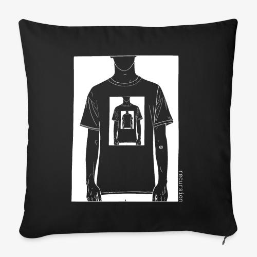 Recursion inverted | Geek | Art | Loop | - Sofa pillowcase 17,3'' x 17,3'' (45 x 45 cm)