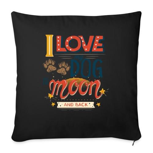 Moon Dog Light - Soffkuddsöverdrag, 45 x 45 cm