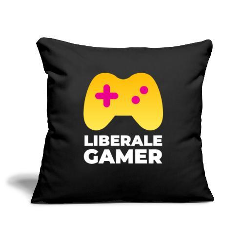 Liberale Gamer Logo - Sofakissenbezug 44 x 44 cm