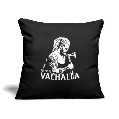 Vikinger Berserker Odin Valhalla Geschenk Shirt - Sofakissenbezug 44 x 44 cm