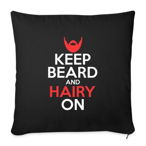 Keep Beard And Hairy On - Sofakissenbezug 44 x 44 cm
