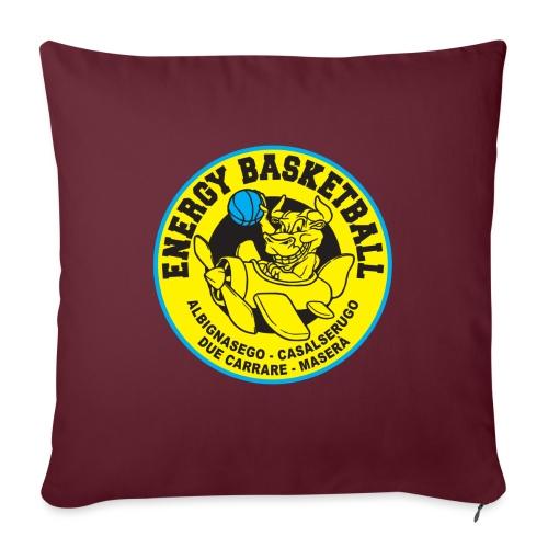 home collection energy basketball - Copricuscino per divano, 45 x 45 cm