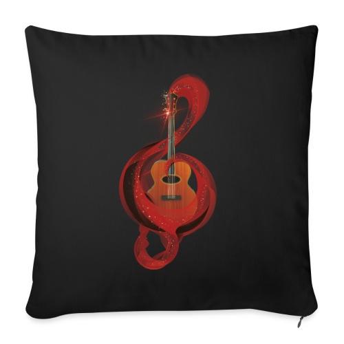 Power of music - Copricuscino per divano, 45 x 45 cm