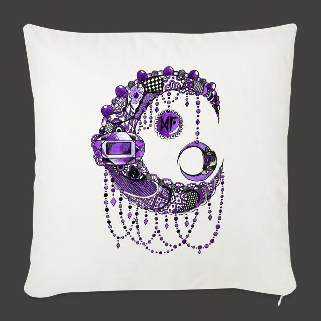 Lune dentelle Violette