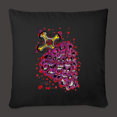 Cross Grapes - Housse de coussin décorative 45x 45cm