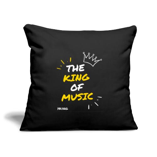 The king Of Music - Funda de cojín, 45 x 45 cm