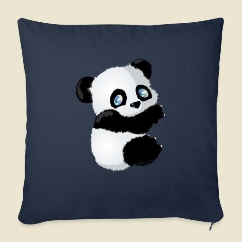 Bébé Panda - Housse de coussin décorative 45x 45cm