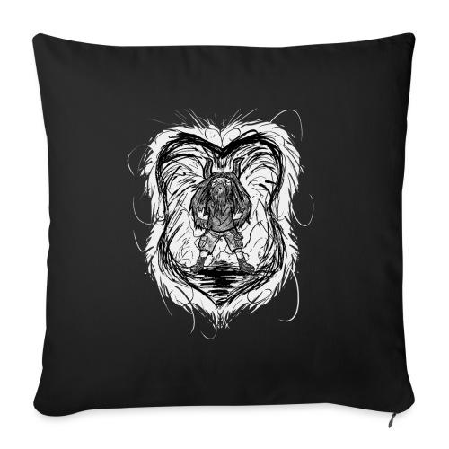 Horned Metalhead - Sofa pillowcase 17,3'' x 17,3'' (45 x 45 cm)