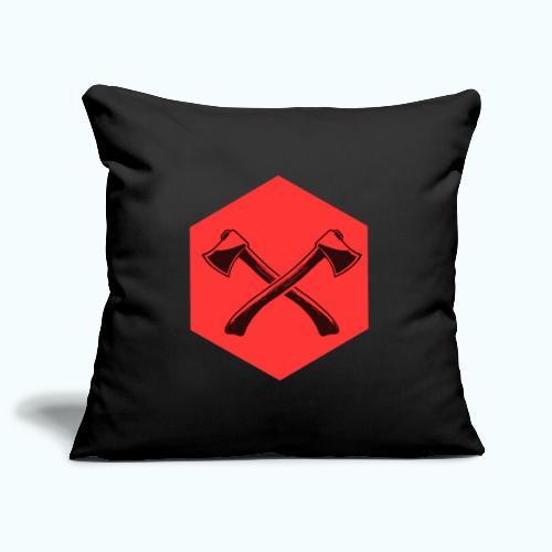 Hipster ax - Sofa pillowcase 17,3'' x 17,3'' (45 x 45 cm)