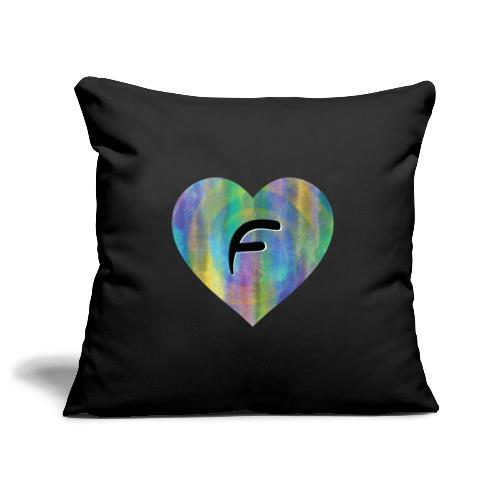 Dont be a freakin fool, fake fame forever! - Sofa pillowcase 17,3'' x 17,3'' (45 x 45 cm)