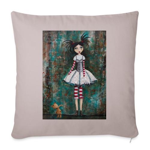 prinsess goth - Housse de coussin décorative 45x 45cm