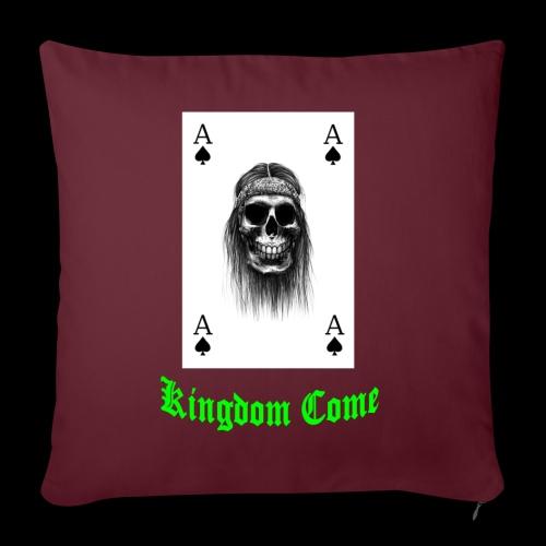kingdom come mit schrift - Sofakissenbezug 44 x 44 cm