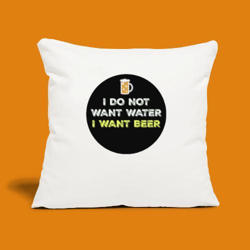 Beer - Sofa pillowcase 17,3'' x 17,3'' (45 x 45 cm)