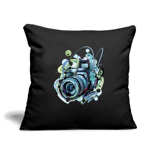 Camera - Sofa pillowcase 17,3'' x 17,3'' (45 x 45 cm)