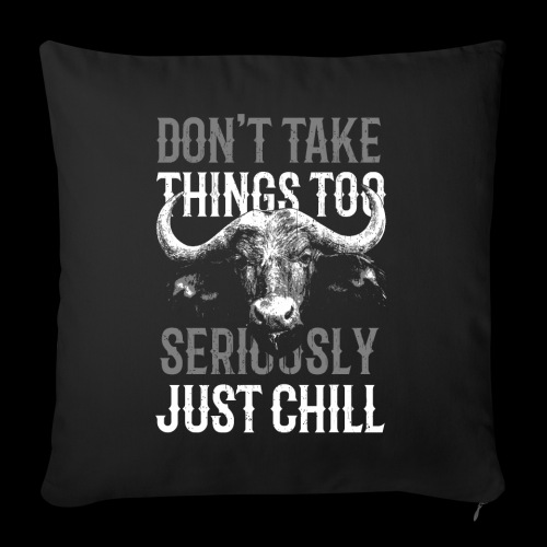 Just Chill! - Sofakissenbezug 44 x 44 cm