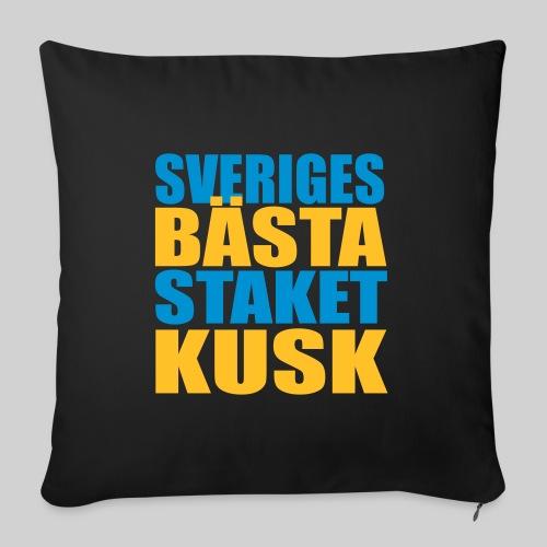 Sveriges bästa staketkusk! - Soffkuddsöverdrag, 45 x 45 cm