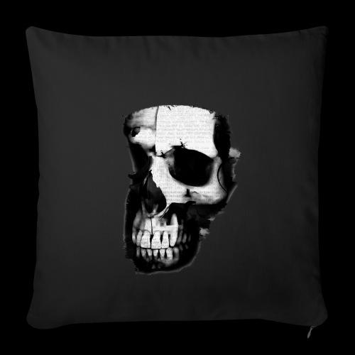 teschio darktrasp - Copricuscino per divano, 45 x 45 cm
