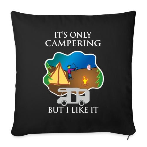 To tylko campering, ale to lubię - Poszewka na poduszkę 45 x 45 cm