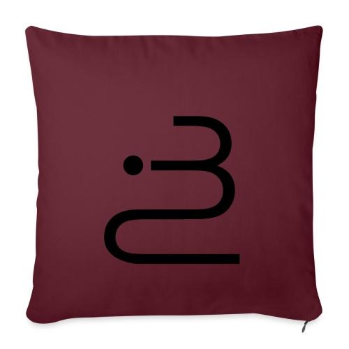 logobottega - Copricuscino per divano, 45 x 45 cm