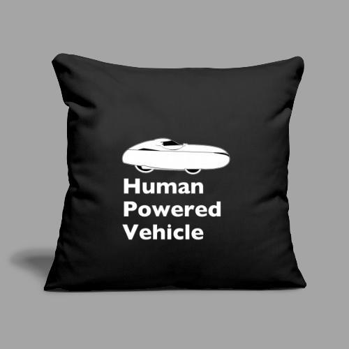 Quest Human Powered Vehicle 2 white - Sohvatyynyn päällinen 45 x 45 cm
