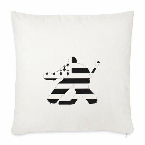 goalie et breton - Housse de coussin décorative 45x 45cm