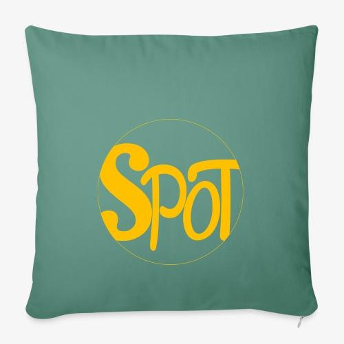 spotCircle Gold - Sofa pillowcase 17,3'' x 17,3'' (45 x 45 cm)