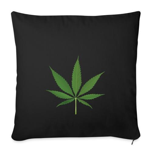 Weed - Sofa pillowcase 17,3'' x 17,3'' (45 x 45 cm)