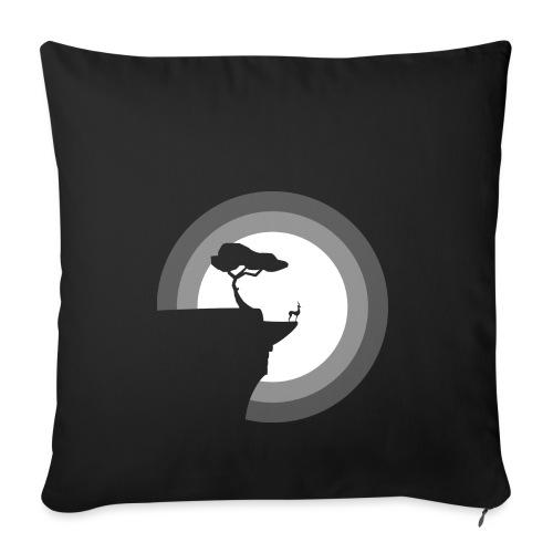 La pleine lune - Housse de coussin décorative 45x 45cm