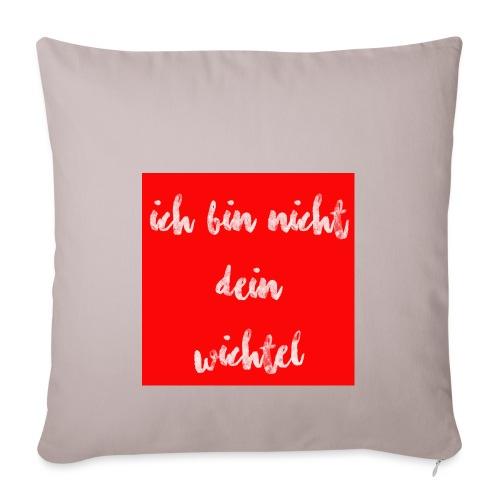 wichtel - Sofakissenbezug 44 x 44 cm